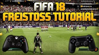 FIFA 18 FREISTOSS TUTORIAL 💥 | Deutsch