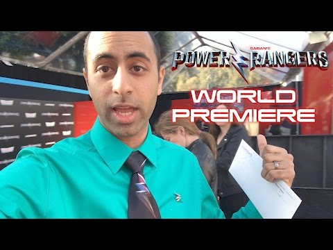 My Power Rangers Movie WORLD PREMIERE RED CARPET Experience!
