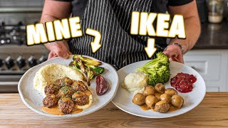 Making IKEA Swedish Meatballs at Home | But Better