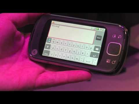Motorola Cliq XT / Quench - Hands-On