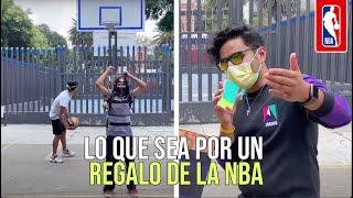 El tiro imposible que los hizo ganar un gran regalo, ¿se animan?   NBA México