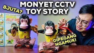 MONYET CCTV TOY STORY ADA MAINANNYA?? (UNBOXING & REVIEW MUSICAL JOLLY CHIMP CYMBAL-BANGING MONKEY)