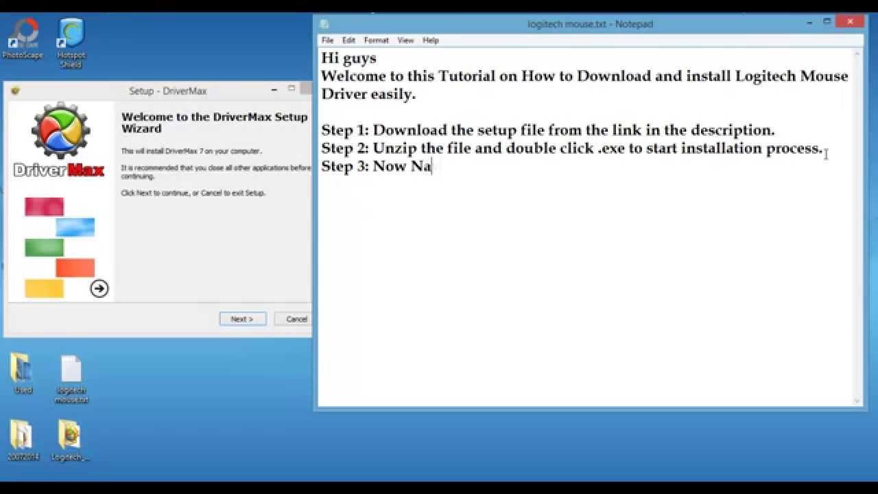 Logitech m510 m705 m305 m570 m310 driver download Windows 10 8 1 7 8 Vista  XP| Latest