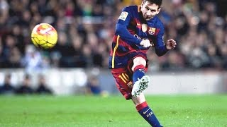 Lionel messi - top 10 free kicks of all time -|hd|