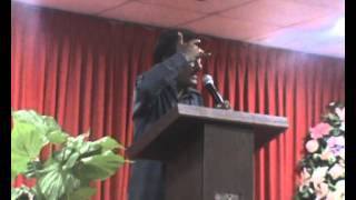 Rev  Edward William Message in IPC church Kuwait on 25th Jul...