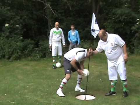 I. FOOTGOLF WORLD CUP 2012 - MAGYAR GOLF CLUB - KISOROSZI - DAY 1 / HOLE 1