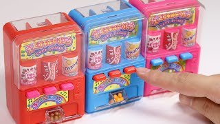 Nostalgic Miniature Vending Machine Shaped Candy Dispenser
