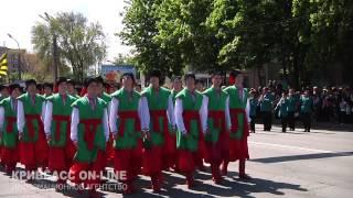 krnews.ua - В Кривом Роге прошел парад ко Дню Победы(8 мая прошли торжественные мероприятия, посвященные памяти павших воинов и мирных жителей в Великой Отечес..., 2015-05-08T17:00:24.000Z)