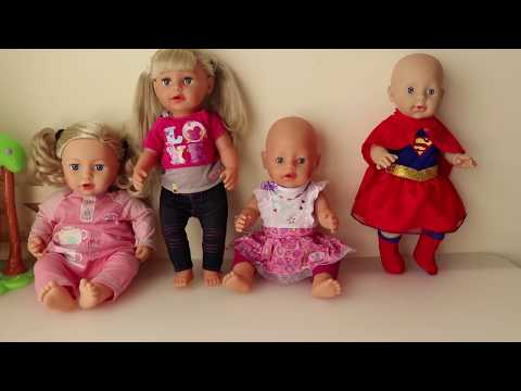 Baby Dolls Dress up with Fashion Clothes Superhero Girl Clothes Baby Annabell Baby Born Nenuco Dolls