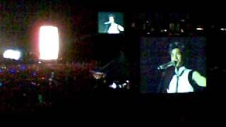 Leehom (王力宏) talking at Malaysia Music Man Concert 2-5-2009