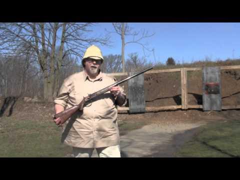 Shooting Dixie Gun Works Gibbs African Hunter Rifle.mov