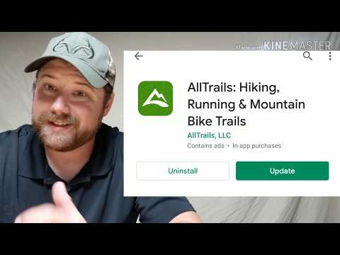 Best Hiking App Review! All Trails Review By The Daily Driver Show