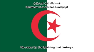 National anthem of Algeria (ArabicEnglish)