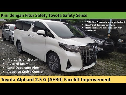 Toyota Alphard 2.5 G Facelift Improvement [AH30] review - Indonesia