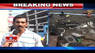 LIVE Witness Face to Face Over Nishith Narayana Accident Death | Hyderabad | HMTV