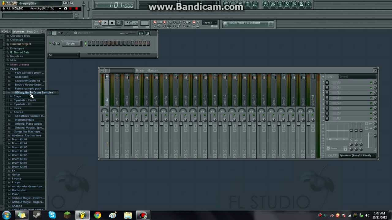 fl studio 11 samples download