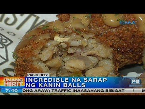 Unang Hirit:  Incredible na Sarap na Kanin Balls sa Pasig