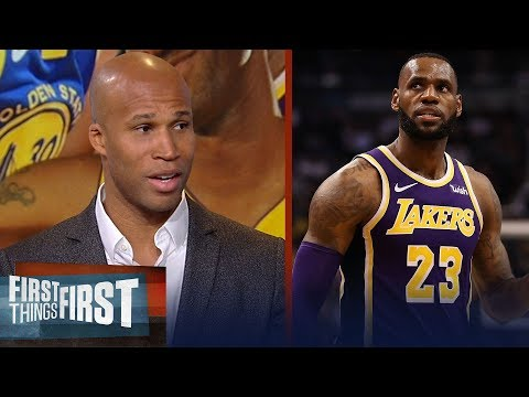 Richard Jefferson talks Lakers title chances, Warriors adding a big fish | NBA | FIRST THINGS FIRST