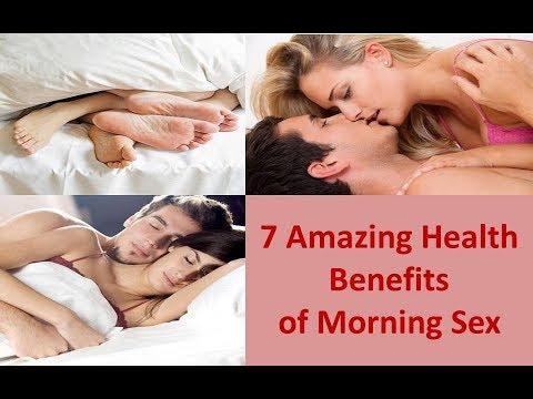 Morning sex health benefits