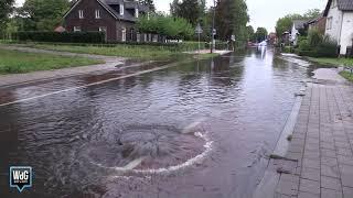 Wolkbreuk zorgt voor wateroverlast in Weert