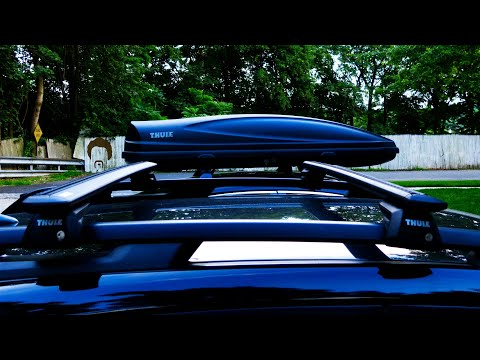 Thule Roof Box and Thule EVO Wingbar Roof Rack Review