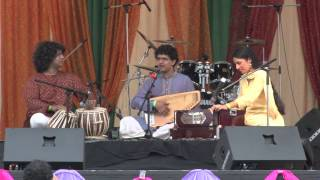 Akhil Jobanputra (Classical Indian Vocalist) LIVE @ Sawan Mela 2012