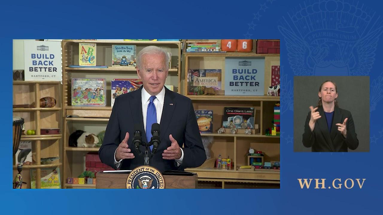 President Biden Delivers Remarks Promoting his Build Back Better Agenda