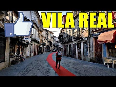 VILA REAL - PORTUGAL - UMA CIDADE LEGAL! 😄
