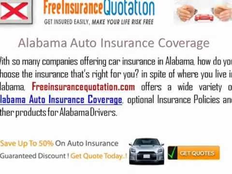 Alabama Auto Insurance Company - Cheap Auto Insurance Companies In Alabama
