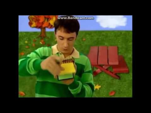 Blues Clues How To Draw Bouncing