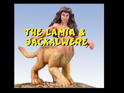 Dungeons and Dragons Lore : Lamia and Jackalwere