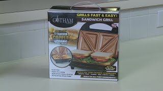 As seen on TV: Gotham Steel Sandwich Maker
