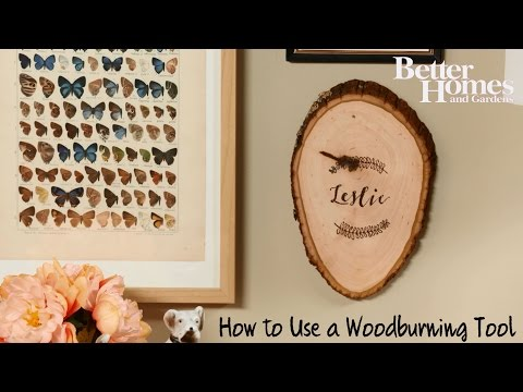 How to Use a Wood-Burning Tool