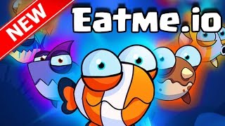 Eatme.io EPIC AGAR.IO WITH FISH TROLLING TRICK SPLITTING FISH!! | Brand New Eatme.io Gameplay IOS!