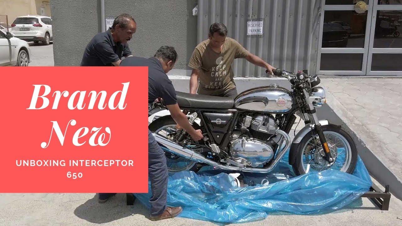 Impulse Buy | Brand New Royal Enfield Interceptor 650 | Unboxing The Motorcycle image