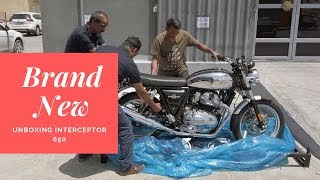Impulse Buy | Brand New Royal Enfield Interceptor 650 | Unboxing The Motorcycle