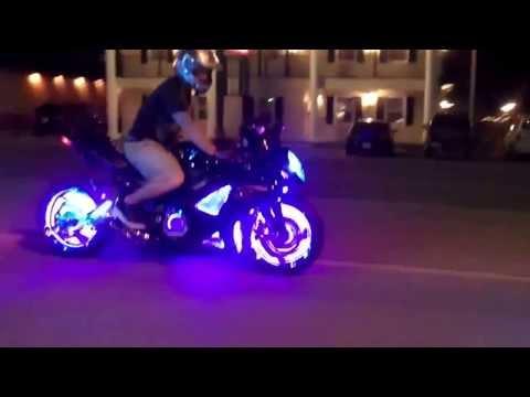 xe máy độ đèn led - dodenxemay.vn