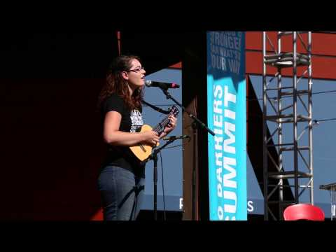 Mandy Harvey Singing 'Try' - No Barriers Summit 2015
