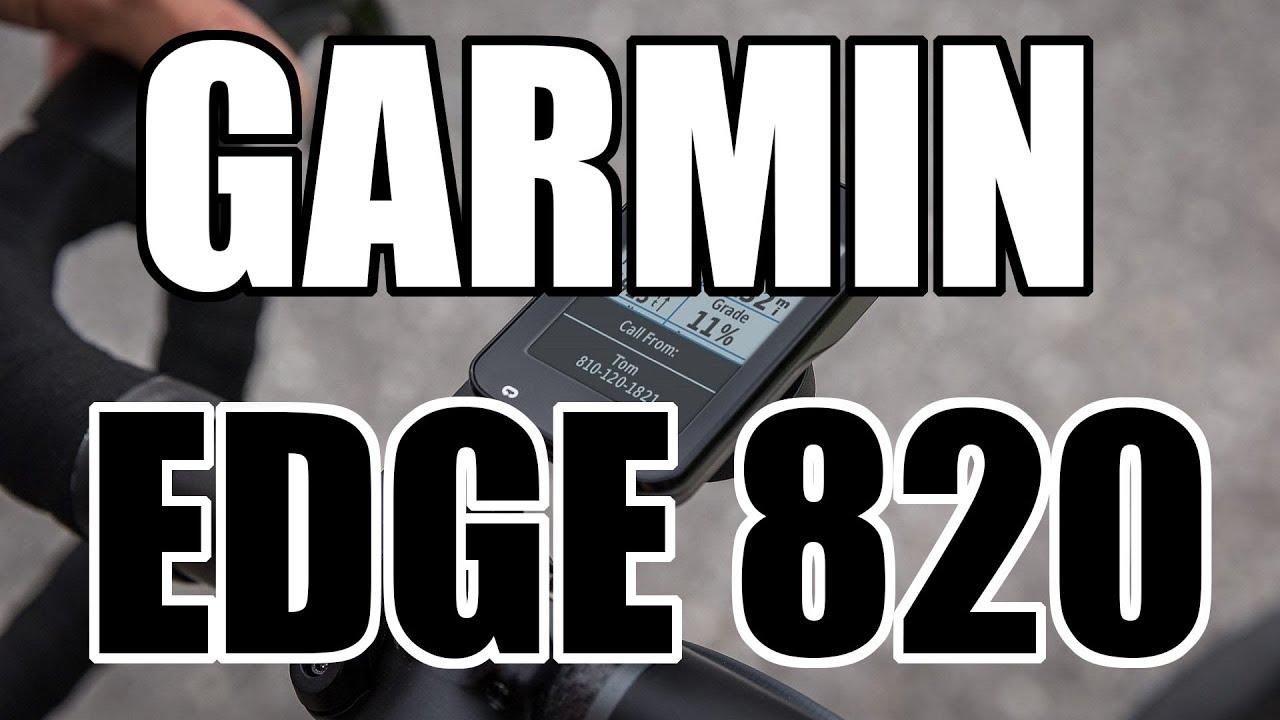 Rzut oka na Garmin Edge 820 // Rowerowe Porady