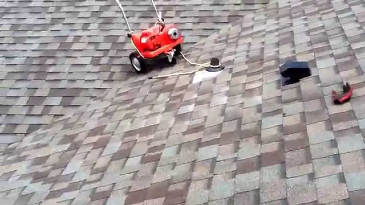 Snaking Main Sewer From Roof Vent Youtube