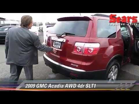 used 2009 gmc acadia awd slt1 minnetonka minneapolis. Black Bedroom Furniture Sets. Home Design Ideas