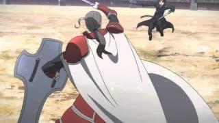 Sword Art Online Kirito vs Heathcliff Duel [Eng Sub]