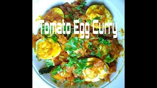 Tangy Tomato Egg Curry