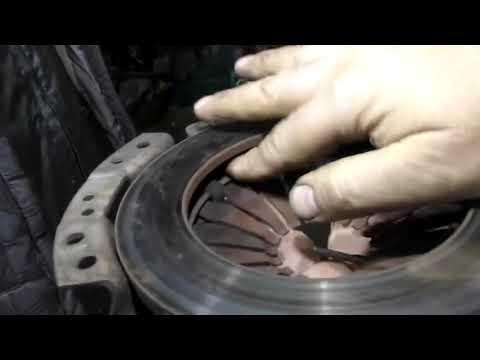 Неисправности механизма сцепление - стопорное кольцо корзины