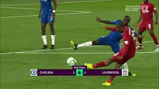 Liverpool consegue o empate contra o Chelsea, mas perde a liderança da Premier League