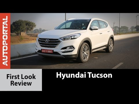 Hyundai Tucson First look Review - Autoportal