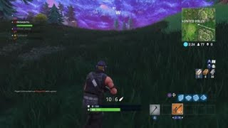 Was gonna get rid of this gold sniper but first.... | Fortnite | PS4
