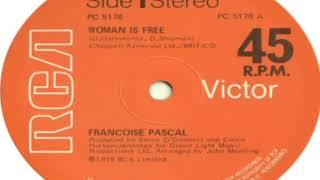 Francoise Pascal Woman Is Free 12 Single 1979
