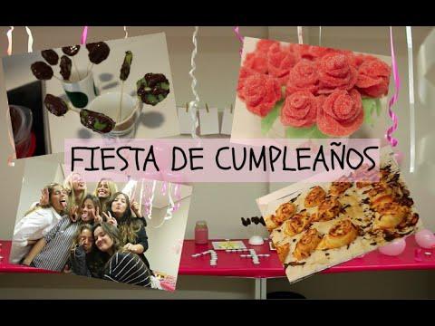 Organiza una fiesta diy cumplea os sorpresa youtube - Como hacer una fiesta de cumpleanos ...