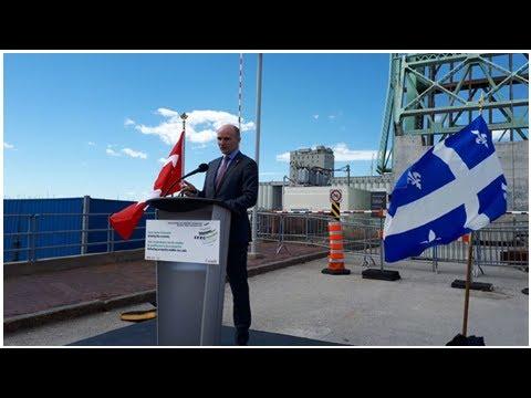 Ottawa annonce des millions pour le port de Québec